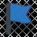 Flag Goal Success Icon