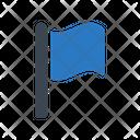 Flag Sign Destination Icon