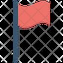 Flag Mark Pennant Flag Icon
