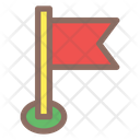 Map Flag Pin Icon