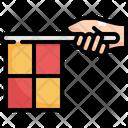 Flag Offside Soccer Icon