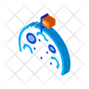 Astronaut Flag Astronomy Icon