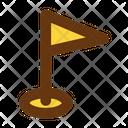 Flag Internet Business Icon