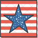 Flag Star American Icon