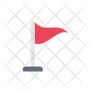 Flag Mark Sign Icon