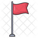 Flag Mark Waving Icon