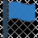 Flag Banner Management Goal Icon