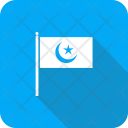 Flag Islam Crescent Icon