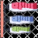 Carp Fish Flag Icon