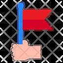 Flag Hand Reward Icon