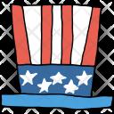 Flag Hat American Icon