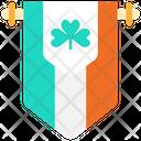 Flag Saint Patrick Country Icon