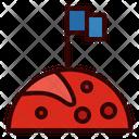 Flag Planet Exploration Icon