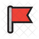 Flag Flagged Warning Icon