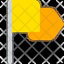 Flag Achivement Mark Icon