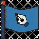 Flag Press World Press Freedom Day Icon