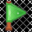 Flag Flagpole Flaglet Icon