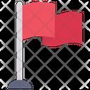 Flag Pole Destination Icon