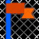 Flag Mission Destination Flag Icon