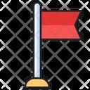 Flag Map Accomplishment Icon