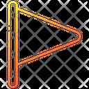 Flag Pin School Icon