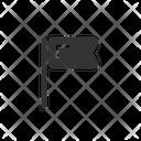Flag Location Web Icon