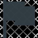 Flag Mark Wind Icon
