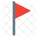 Flag Notification Mark Icon