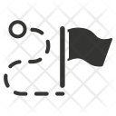Flag Checkered Competition Icon