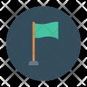 Flag Goal Target Icon