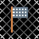 Flag Goal Achievement Icon