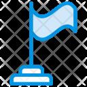 Flag Goal Aim Icon