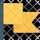 Flag Fluttering Ensign Icon