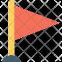 Flag Destination Map Icon
