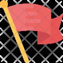 Flag Banner Ribbon Icon