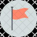 Flag Destination Checkmark Icon