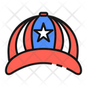 Cap United States America Icon