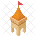 Flag Castle Icon