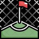 Flag Corner Soccer Icon