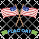 Flag Day Icon