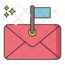 Flag Email Icon
