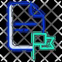 Flag File Icon