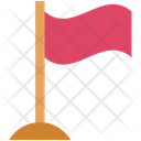 Flag  Isolate Icon