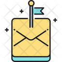 Flag Mail Icon