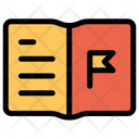 Flag Notebook Icon