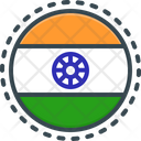 Flag Of India Flag Ind Icon