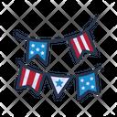Flag Party Icon