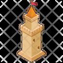Flag Pillar Icon