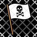 Flag pirates Icon