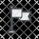 Flag Pole Flag Pole Icon